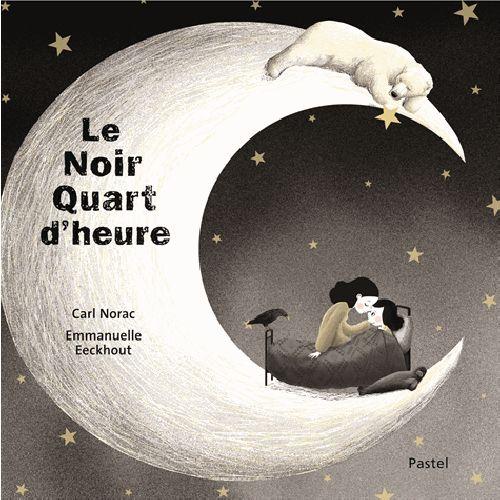 Le noir quart d'heure de Carl Norac. Un récit belge qui voyage au cœur du #Borinage. A partir de 3 ans. #SalonEduc15