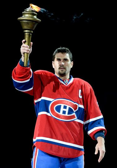 Brian Gionta #21 of the Montreal Canadiens