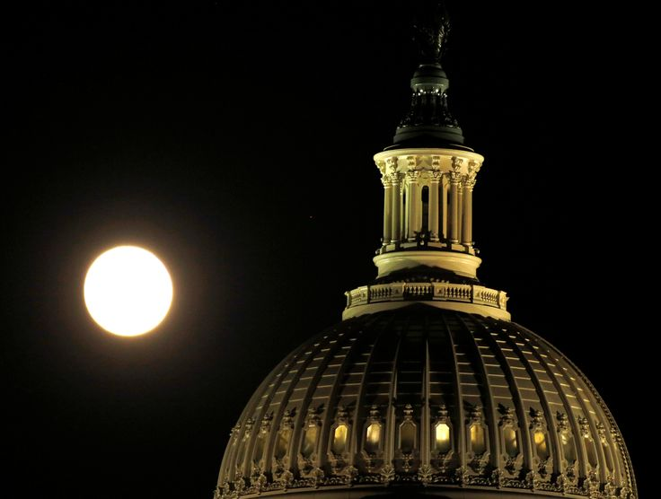 The supermoon rises over the United States Capitol dome in Washington, U.S., November 13, 2016.    REUTERS/Gary Cameron via @AOL_Lifestyle Read more: http://www.aol.com/article/news/2016/11/15/60-million-renovation-of-the-u-s-capitol-finally-completed/21607280/?a_dgi=aolshare_pinterest#fullscreen