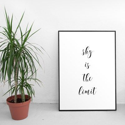 FREE motivational quote print #freebies #poster #quote #free
