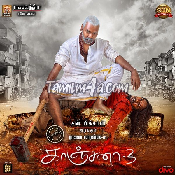 Kanchana 3 (2019) Tamil iTunes [M4A-256Kbps] Free Download