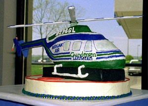 Helicopter cake idea for Peanuts Birthday