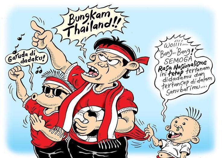 Mice Cartoon: Garuda Di Dadaku,  Karya: Muhammad Misrad,  Sumber: Rakyat Merdeka - 15 Desember 2016