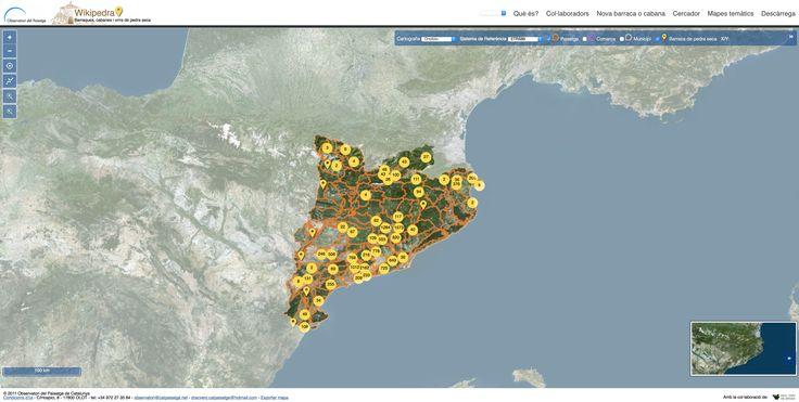 Wikipedra: Observatori del Paisatge de Catalunya - Barraques de pedra seca