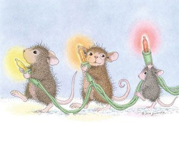 Muzzy, Maxwell and Monica from House-Mouse Designs®. Click on the image to see all of the very mice products that this image is available on.