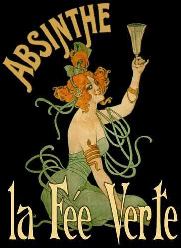 Inspiration Absinthe label