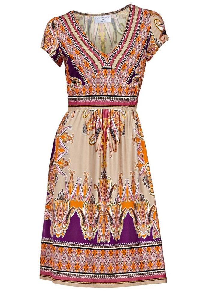 #HeineShoppingliste Sommerkleid mit tollem Print