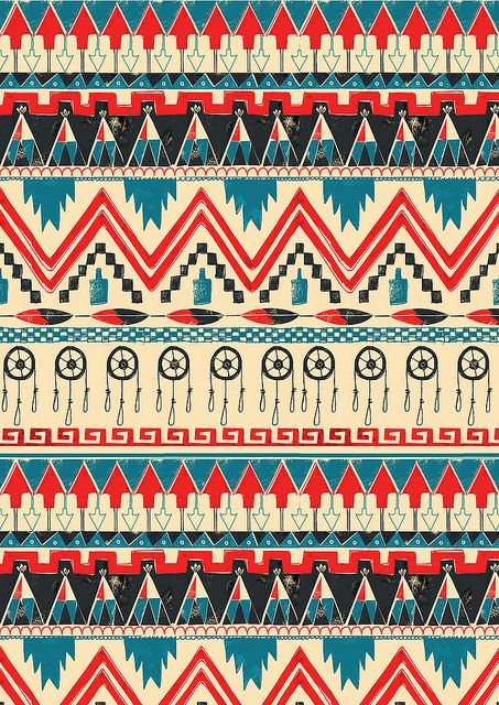 southwestern aztec wallpaper - photo #15
