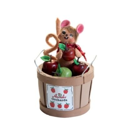 """Apple Picking Mouse - 5"""""""