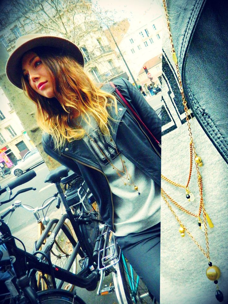 Planet necklaces, Paris. #Natanè #jewels #necklaces #collane #bijoux #