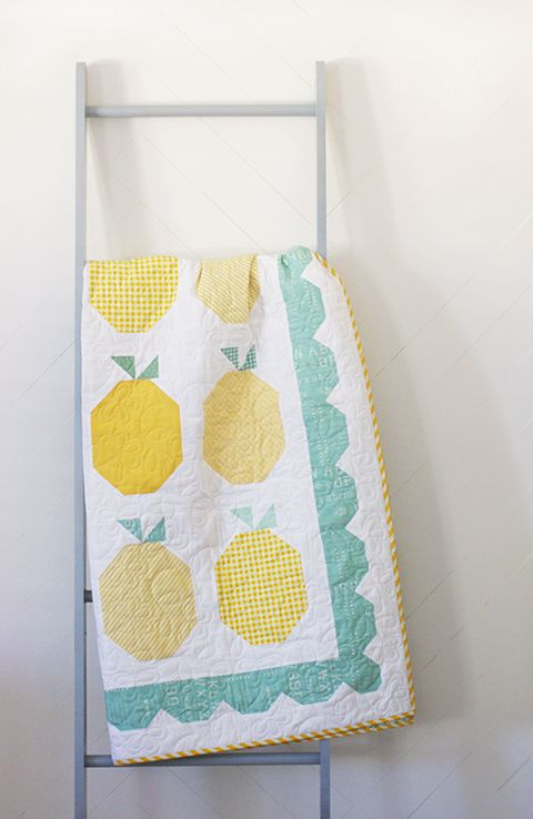 Lemonade Quilt Tutorial! Such a fun summer quilt!
