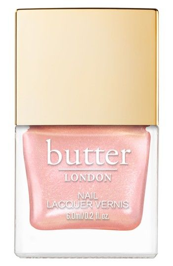 Free shipping and returns on butter LONDON Mini Glazen Nail Lacquer (Limited Edition) at Nordstrom.com. What it is: A limited-edition, take-anywhere nail lacquer with color-rich pigments for one-stroke iridescent coverage.What it does: It gives your nails a high-shine finish with chip-resistant wear while promoting strong, healthy nails.How to use: Apply one coat, then let dry. Follow with a second coat.