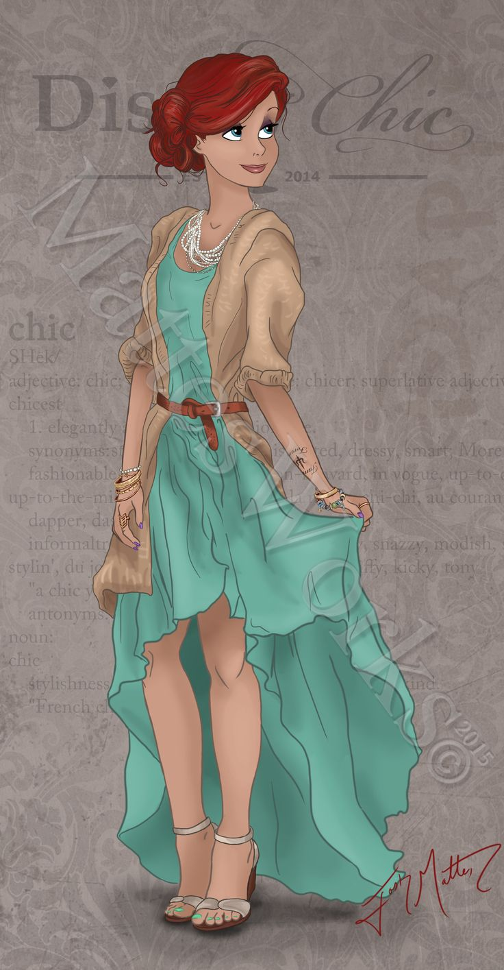 Chic Ariel by MattesWorks.deviantart.com on @DeviantArt