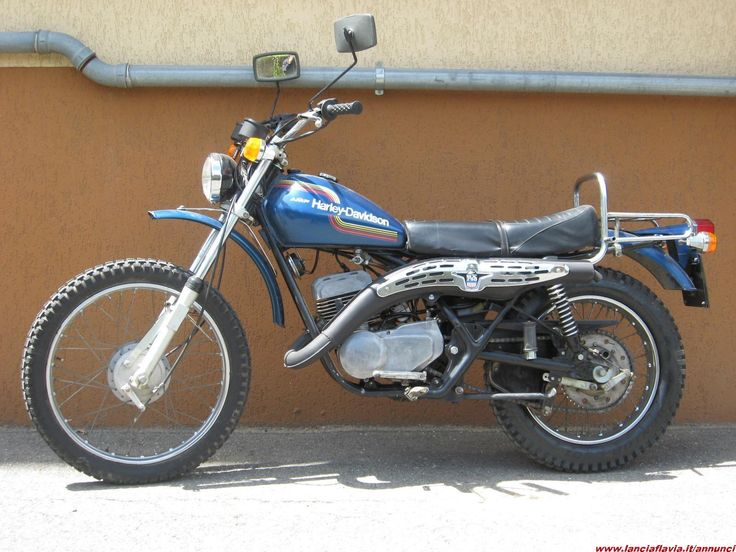 Harley Davidson scrambler 250 sx - 1973/4