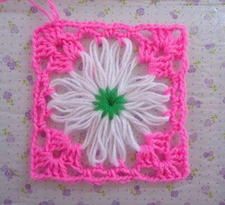 ..❀Dinah's Crochet❀..: Flower loom projects..tutorial