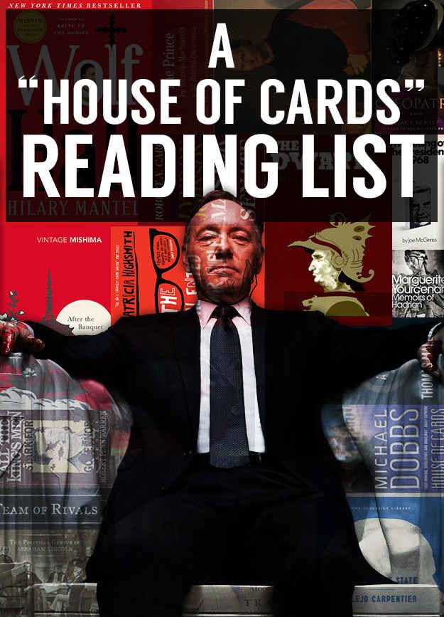 "23 Books Every Fan Of ""House Of Cards"" Should Read"