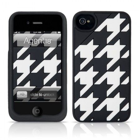 TillyVest IPhone 4S cover Roll Tide! Houndstooth: Iphone 4S, Iphone 4 4S, Tillyvest Iphone, Products, Iphone Accessories, Black, Iphone Dressing