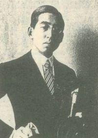 1924年大正13年Horiguchi Daigaku ルーマニアにて 32歳