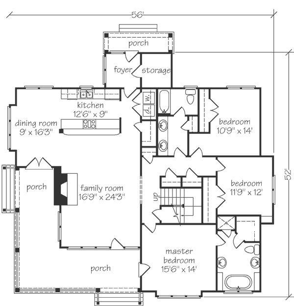 Oceanside house plans
