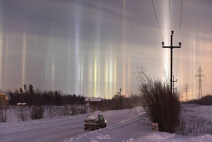 FOTOS: Espectaculares 'columnas luminosas' adornan el cielo de San Petersburgo - RT