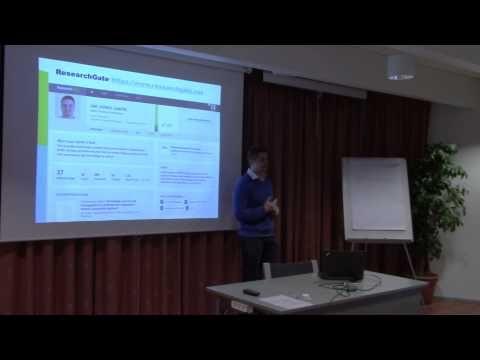 Sosiaalinen media tutkijan työssä - Jari Jussila, NOVI, TTY - YouTube