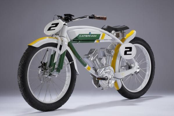 Wild Caterham concept motorcycles. Way cool...