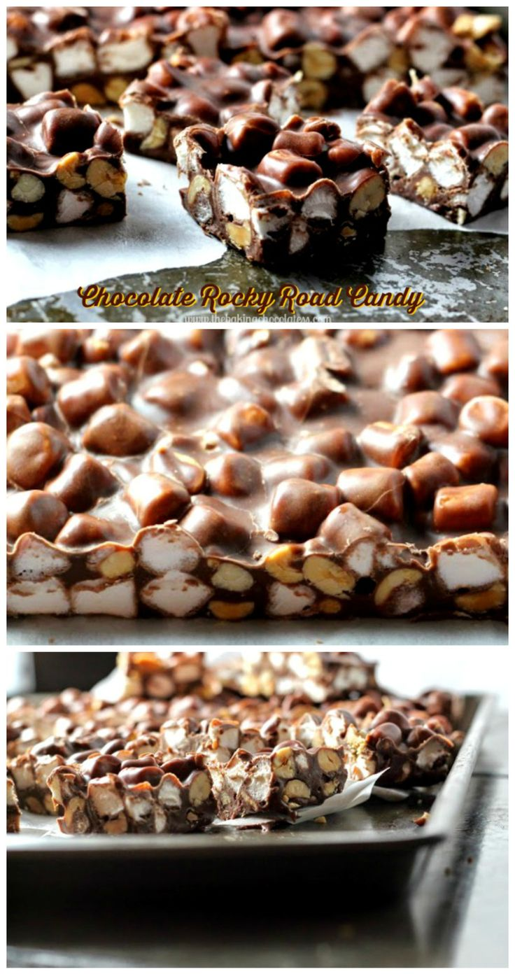 CHOCOLATE ROCKY ROAD CANDY