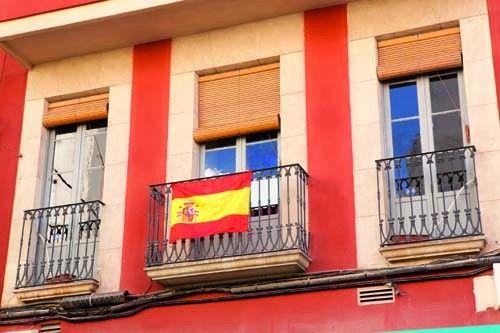 Bandera España con escudo para el mundial de fútbol. Selección española de fútbol. Dimensiones: 3,3x20,3x3,3 cm #articulosmerchandising #articulospublicitariosbaratos #reclamopublicidad