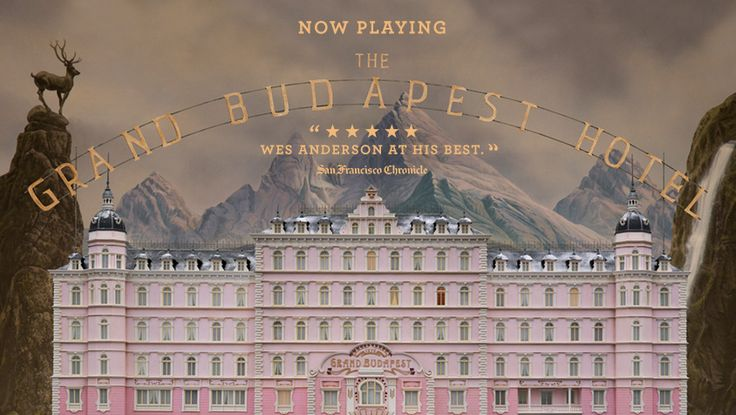21. Grand Budapest Hotel (Wes Anderson)