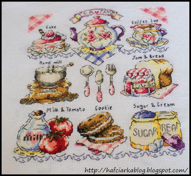 "Hafciarka: SAL ""tea time"" -9/9 - FINAŁ!!!"