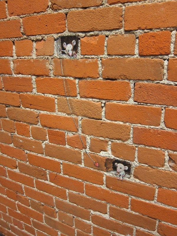 T''as pas 100 briques ? / Street art.