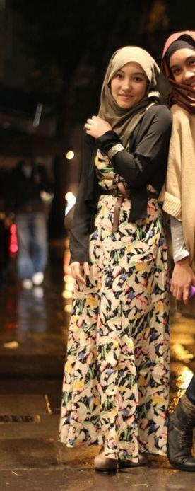 Hijab style <3 hijab style