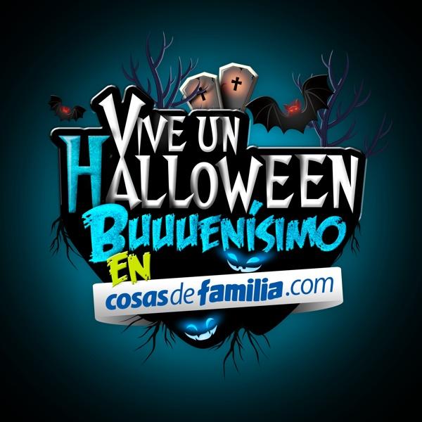 Halloween-Cosas de Familia-Familia by Chuz Cardona, via Behance
