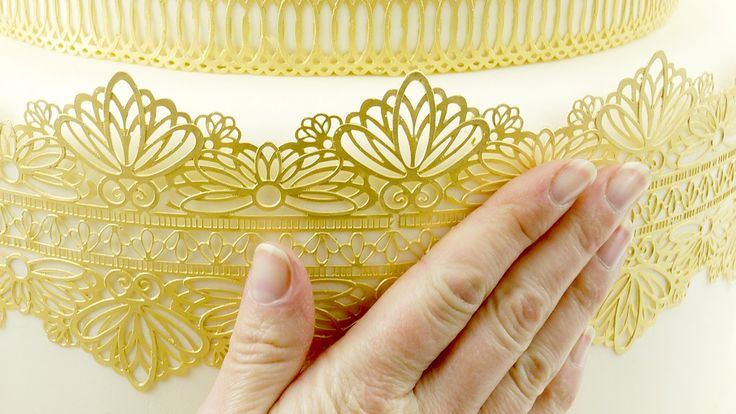 How to create beautiful edible lace in minutes using Cake Lace Mix By Claire Bowman, perfect for decorating wedding and celebration cakes! Let us show you ho...