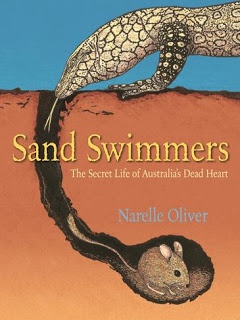 Children's Book Review, Sand Swimmers - gr8 info text on Australia
