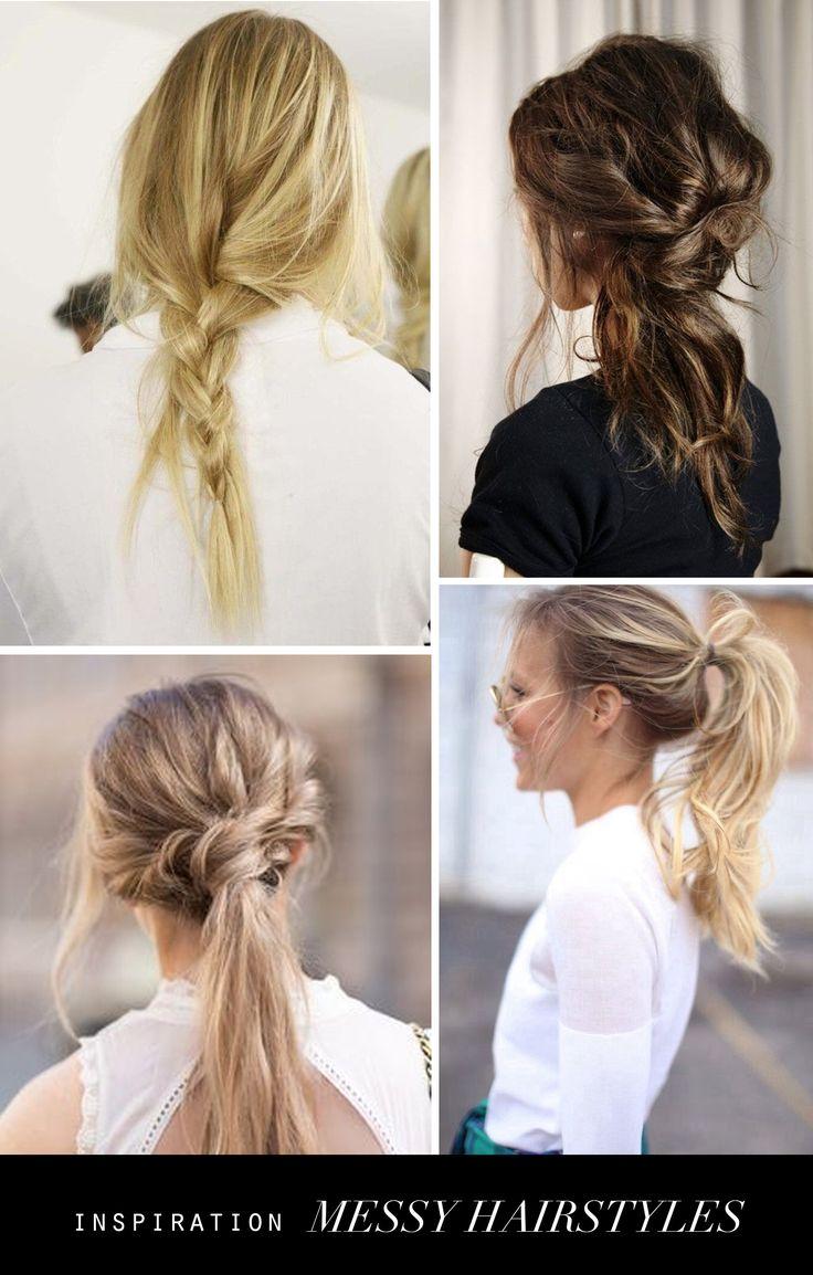 Jeg er vild med de lidt rodede og casual frisurer og her er en række til inspiration. Jeg synes det er langt flottere end de helt perfekte og polerede opsætninger, som…
