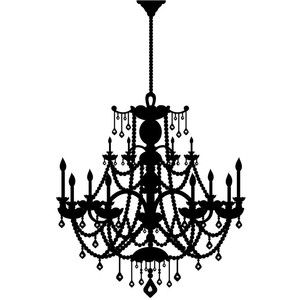44 best chandeliers images on pinterest chandeliers night lamps peel and stick wall decal rhinestone chandelier this will be going up on my wall aloadofball Images