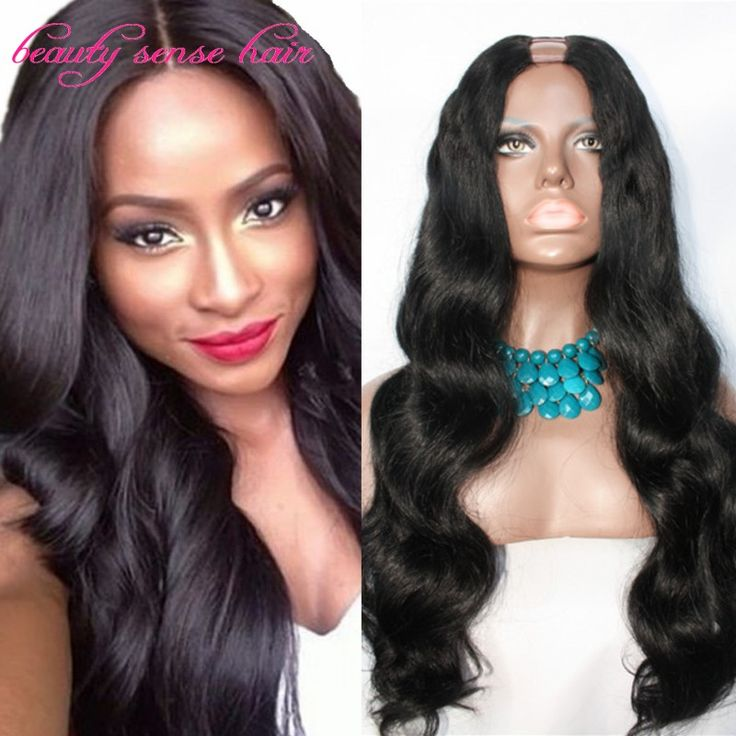 Cheap wig hair care, Buy Quality hair band wig directly from China wig hanger Suppliers:  180% density 7A Grade Unprocessed U part wig Brazilian Virgin hair Narrow part size on middle part human hair U part wi