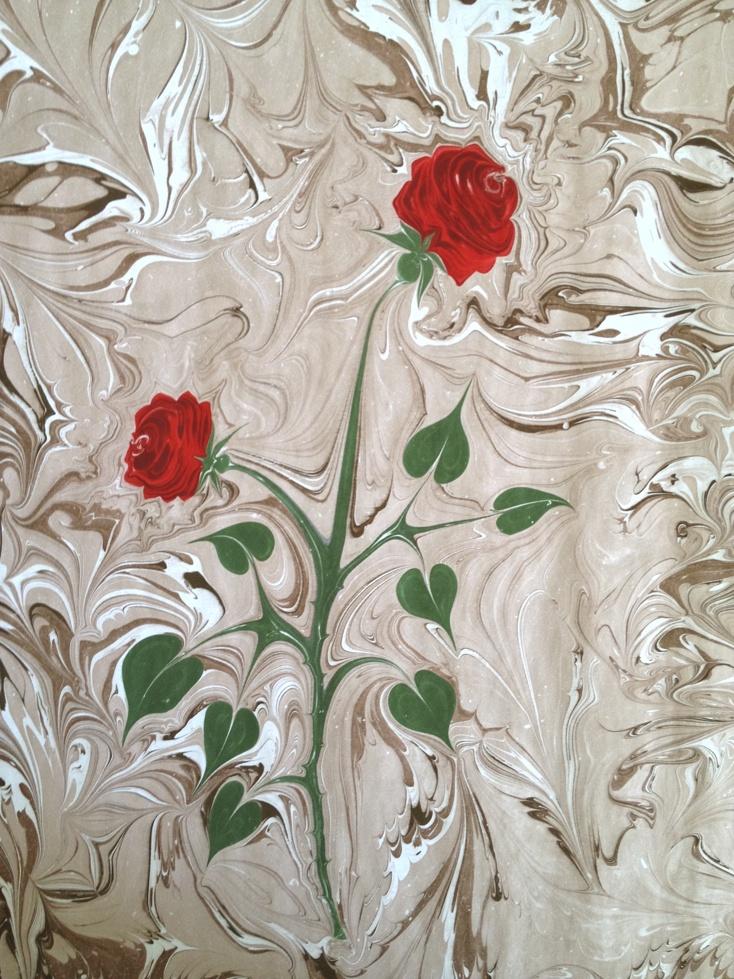 Turkish Art of Marbling Paper-Ebru