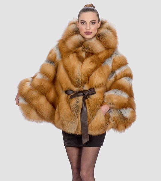 Acorn Furs  Red Fox  Made From Acorn's producers #love #beauty #fur #jacket