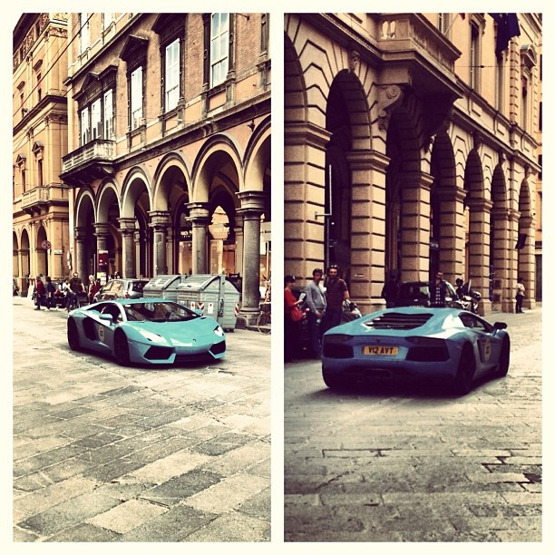 Gran Giro from Rome to Bologna with #Murcielago #Lamborghini #Lambo50