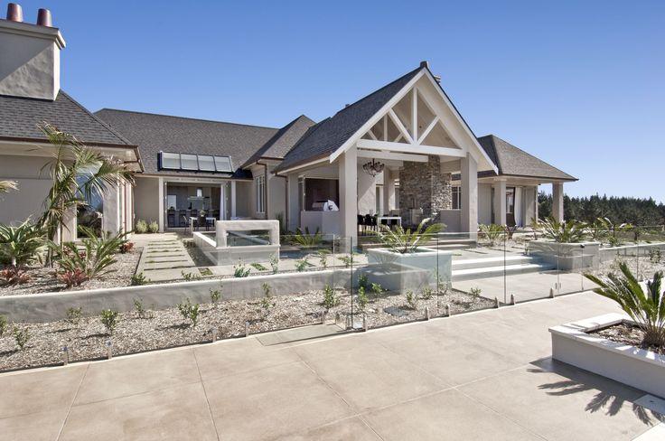 Neutral Coloured Concrete - Okura House