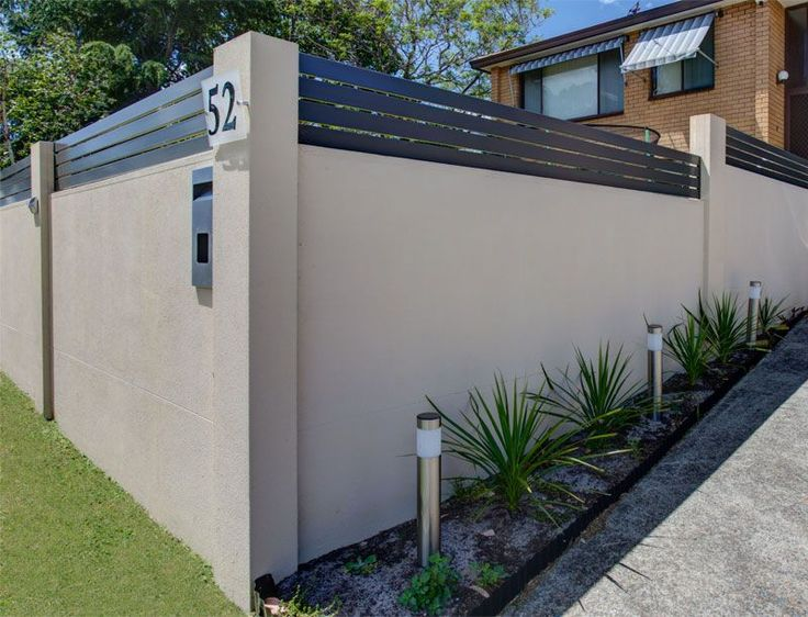 11 best images about Boundary wall on Pinterest Gardens