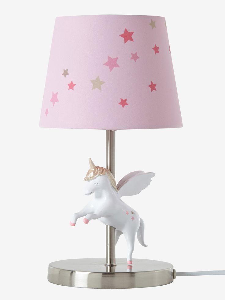 Unicorn light pink storage decoration vertbaudet