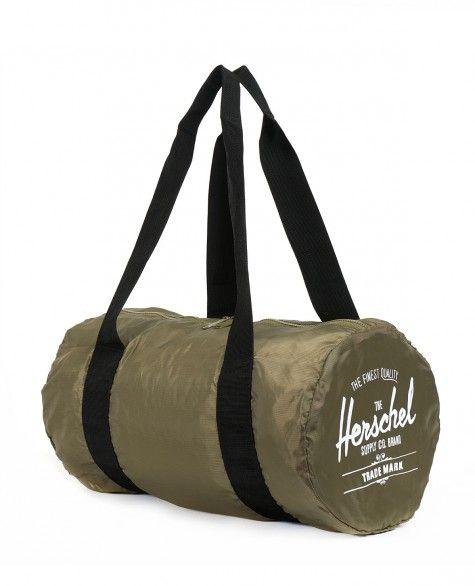 Сумка Herschel Packable Duffle Bag Army Black
