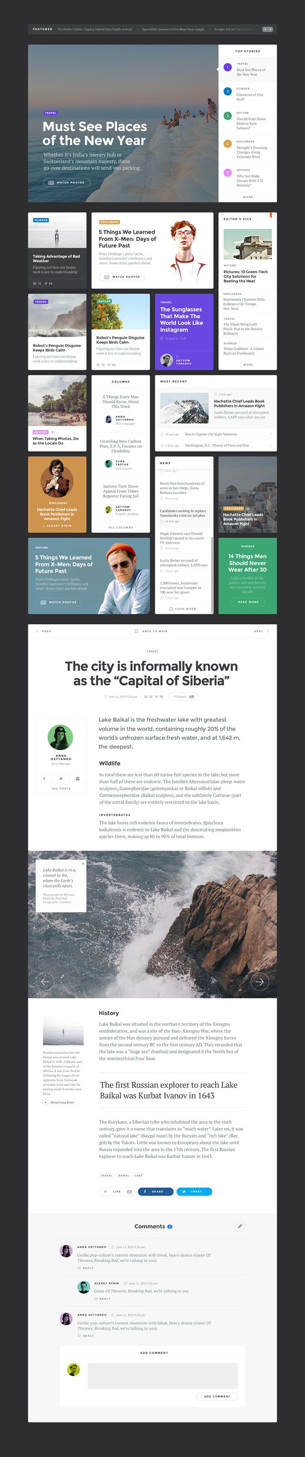 Baikal_blog_dark // Hi Friends, look what I just found on #web #design! Make sure to follow us @moirestudiosjkt to see more pins like this | Moire Studios is a thriving website and graphic design studio based in Jakarta, Indonesia.