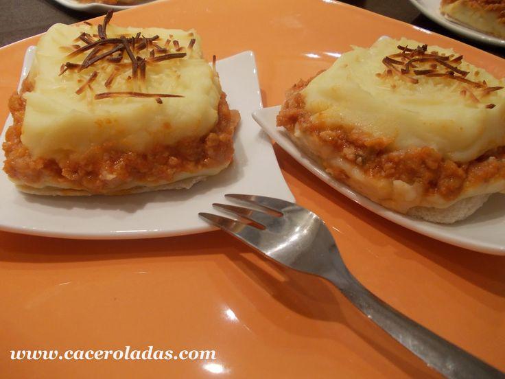 Pastel de patata y carne.