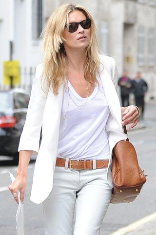 como combinar un blazer blanco de mujer - Buscar con Google