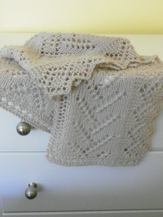 Knitting Pattern for Lace Scarf Twigs and by suelillycreations, $3.25