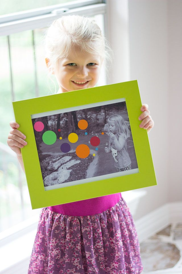 Fun Kids Photo Art @dimprovised